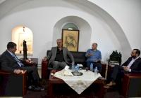 رئيس الاتحاد الفلسطيني للهيئات المحلية يستقبل رئيس بلدية بني نعيم