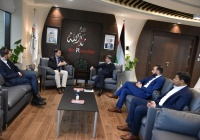 President of the Association of Palestinian Local Authorities Meets the Hungarian Ambassador