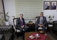 الاتحاد الفلسطيني للهيئات المحلية والحكم المحلي يبحثان عددًا من القضايا المشتركة