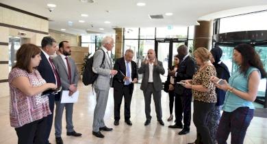 تقرير: الاتحاد الفلسطيني للهيئات المحلية يبحث آفاق التعاون المشترك مع منظمة إدارات المدن العالمية ICMA