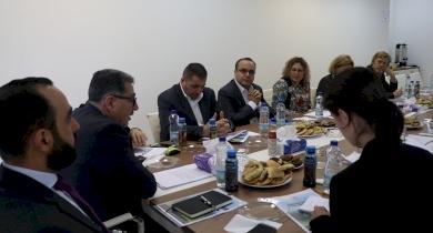 اتحاد الهيئات المحلية يناقش سبل التعاون ودعم تنفيذ استراتيجيته مع ممثلي الجهات المانحة