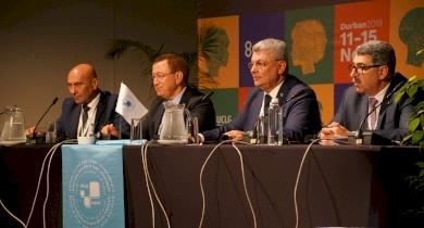 اتحاد الهيئات المحلية عضوًا في المجلس العالمي لمنظمة المدن المتحدة والإدارات المحلية UCLG