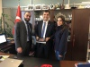 Meeting with Ankara Municipality to enhance collaborations between the Palestinian LGUs and its Turkish counterpart